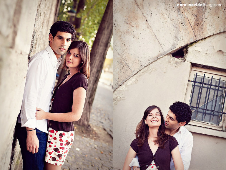 photographe mariage engagement couple Paris